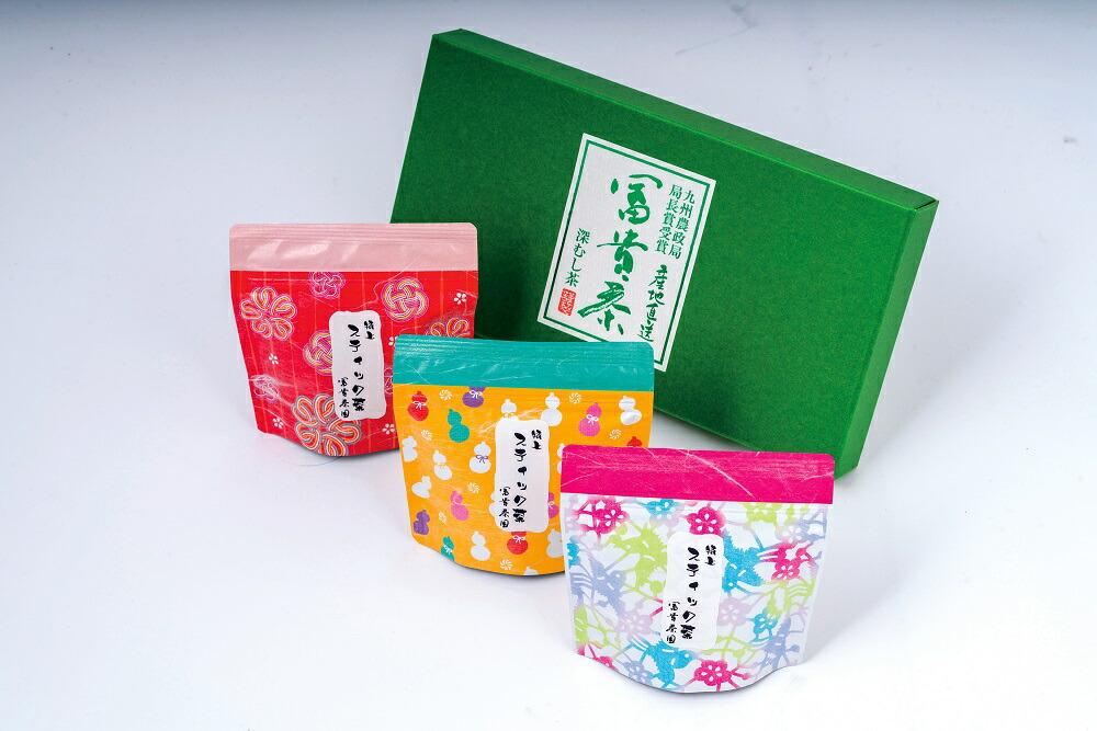 大分県豊後高田市 【ふるさと納税】かわいいパッケージの粉末スティック茶