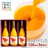 【ふるさと納税】まるでマンゴーを食べているような【マンゴードリンク3本セット】G-B2