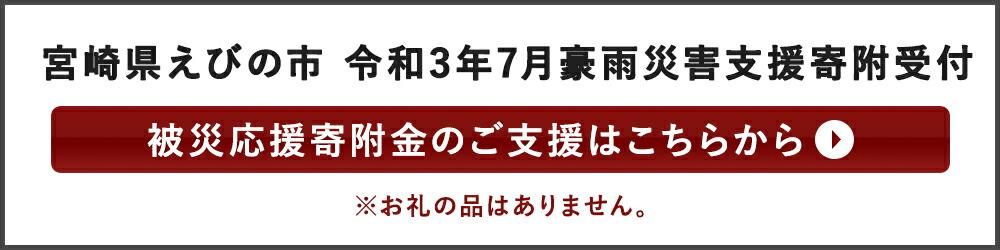 宮崎県えびの市 令和3年7月豪雨災害支援寄附受付