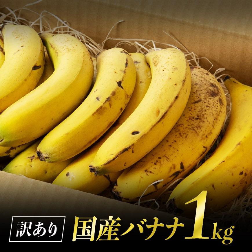 【訳あり】国産バナナ1kg