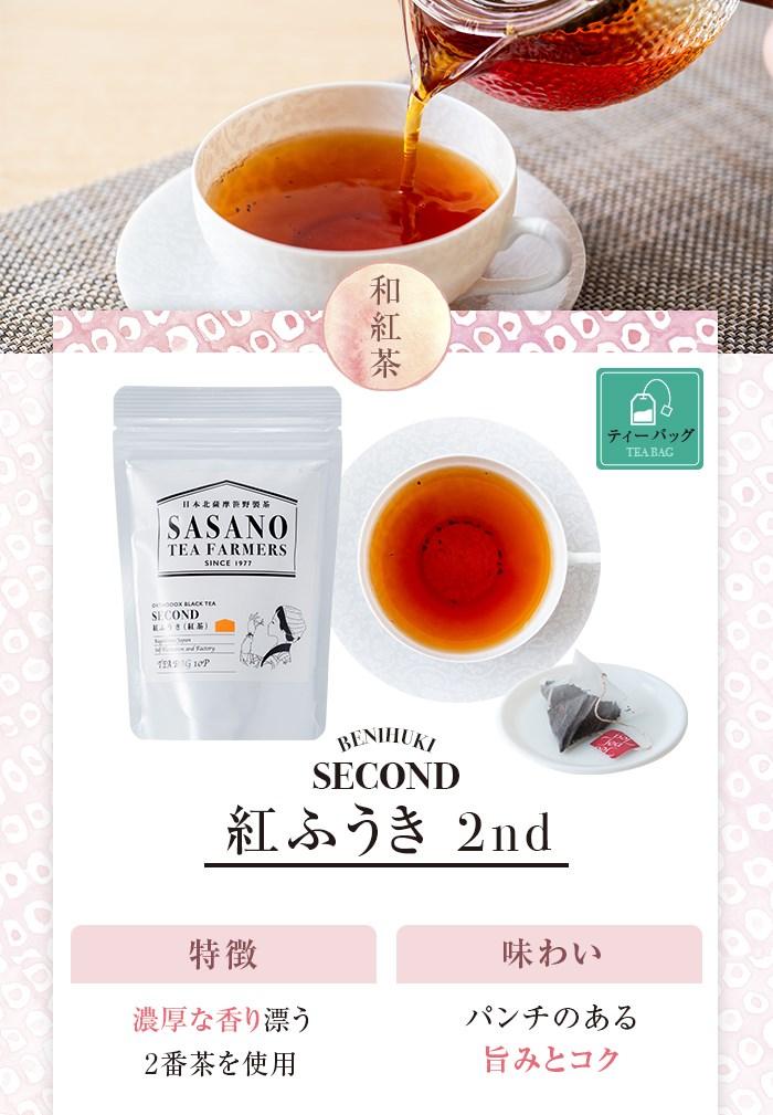 紅ふうき 2nd 濃厚な香り漂う2番茶を使用 パンチのある旨みとコク