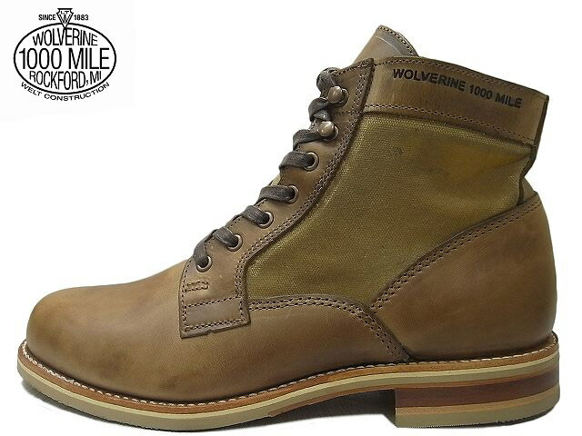b6f1e6f0c7c WOLVERINE and Wolverine 1000 MILE BOOTS WHITEPINE/1000 mile boot white pine  WO0402 W00402 NATURAL / natural horwin chrome Excel leather / canvas duck  ...