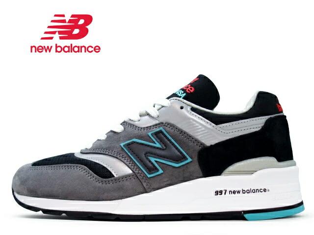 9ed68886cf1d9 楽天市場】ニューバランス 997 new balance メンズ M997 CUR ブラック ...