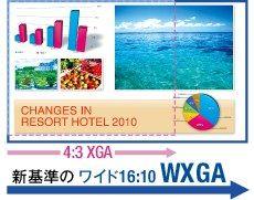 WXGA対応