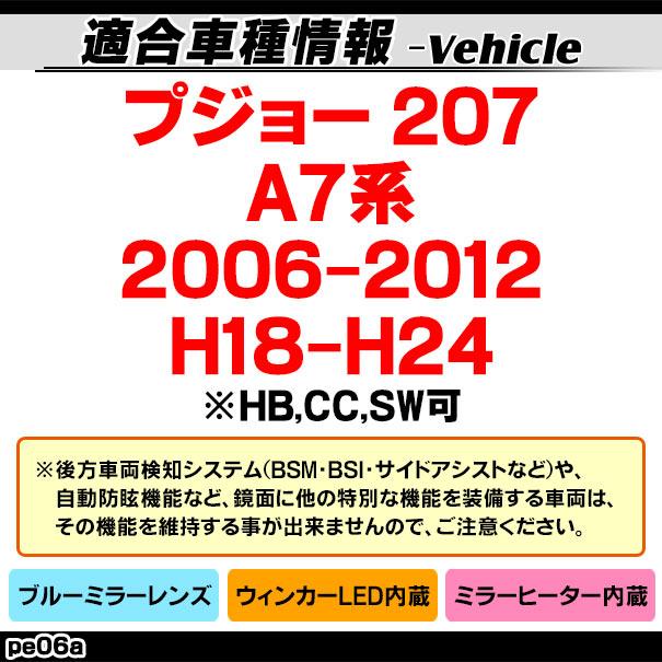フォード ブルーLEDウインカーミラーレンズ