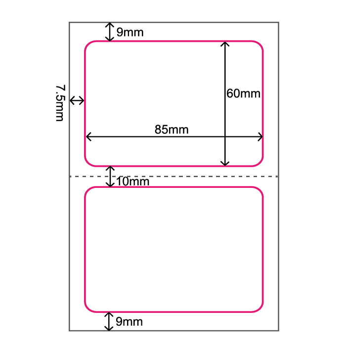 楽天市場 100枚セット fadebomb printable name badge label plain