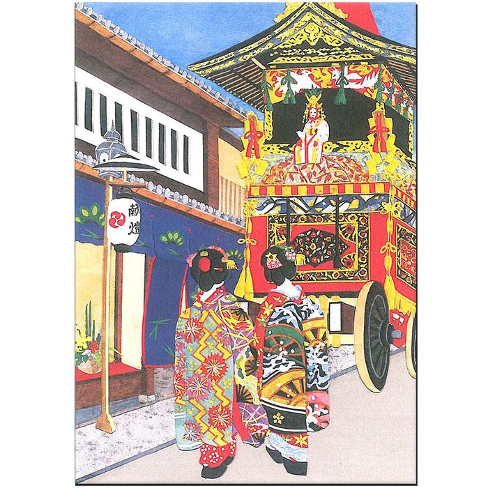 舞妓 カード 祇園祭