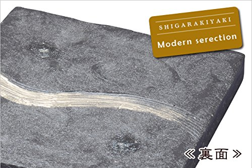 ヤマ庄陶器  黒銀彩 リバーシブル