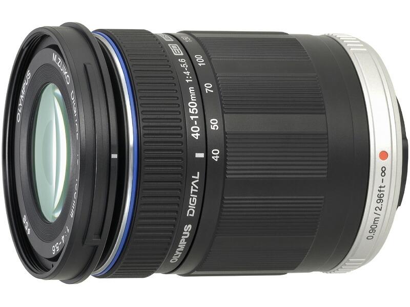 オリンパス M.ZUIKO DIGITAL ED 40-150mm F4.0-5.6 ブラック