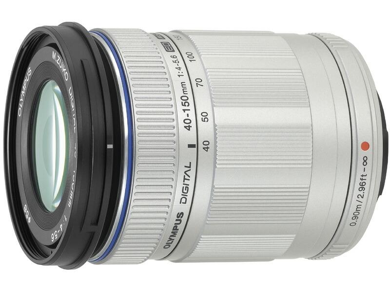 オリンパス M.ZUIKO DIGITAL ED 40-150mm F4.0-5.6 シルバー