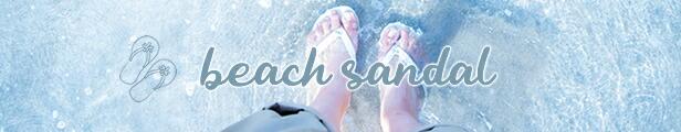 beach sandal/ビーチサンダル