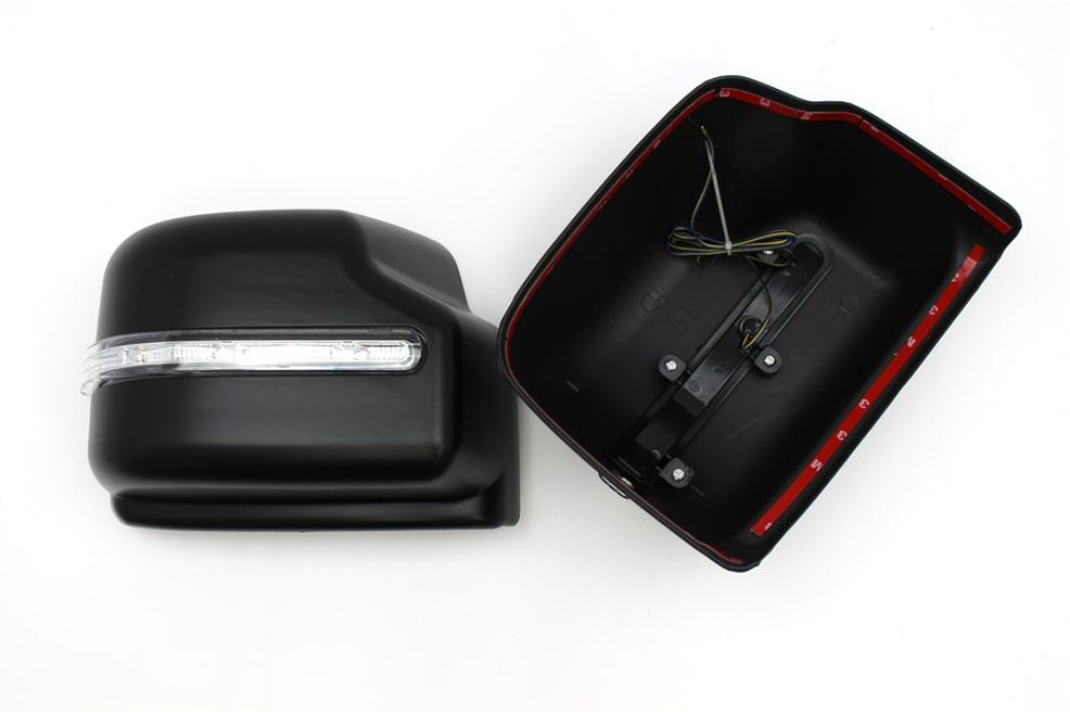 プラチナ LEDウインカードアミラーカバー for ジムニー JB64/JB74