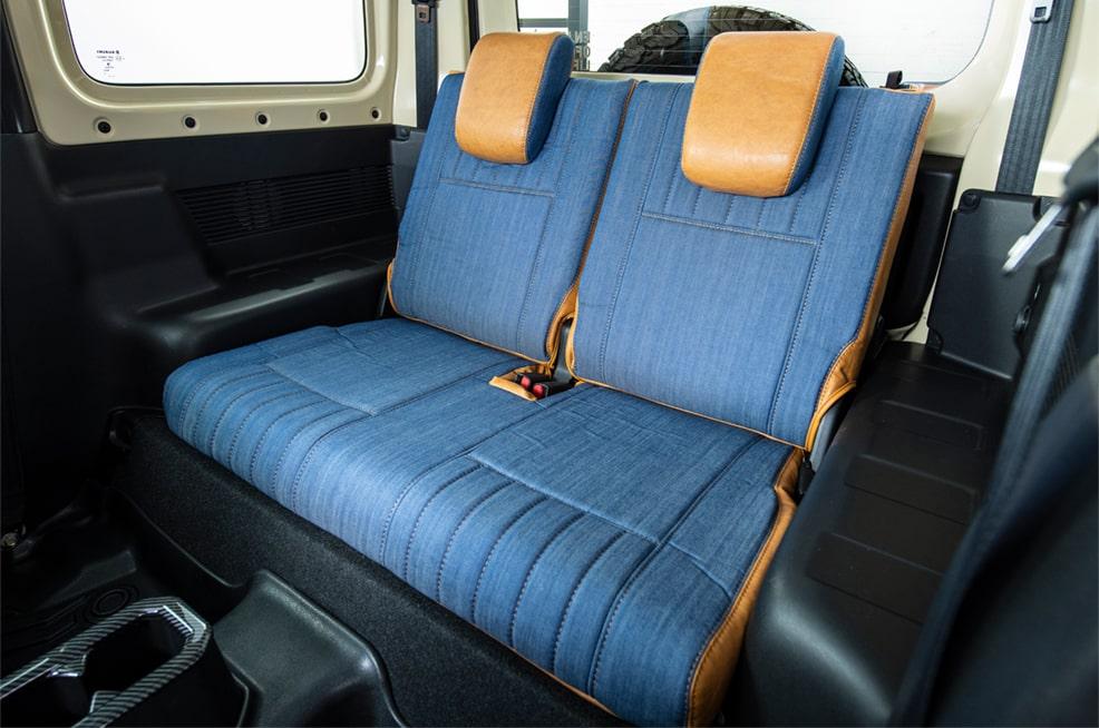 エクストラ ソフトデニム  シートカバー 全座席セット