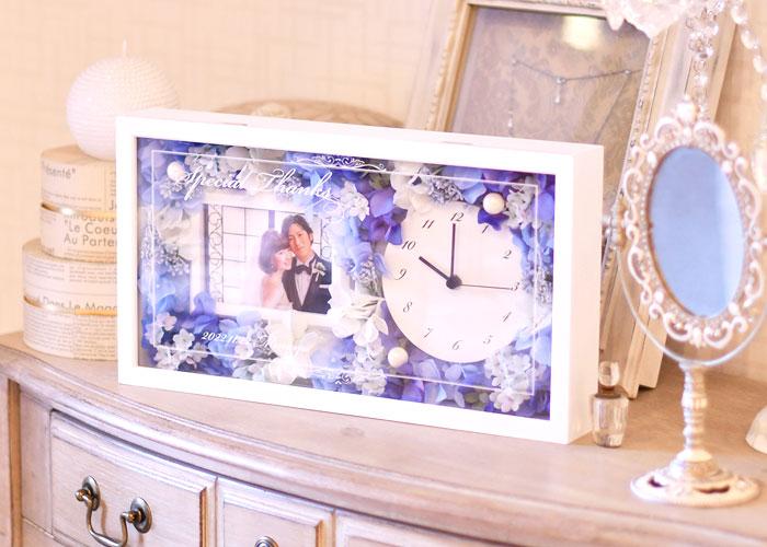フォトフレーム花時計イメージ