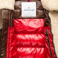 d28775236 [MONCLER] Mouton real leather down jacket