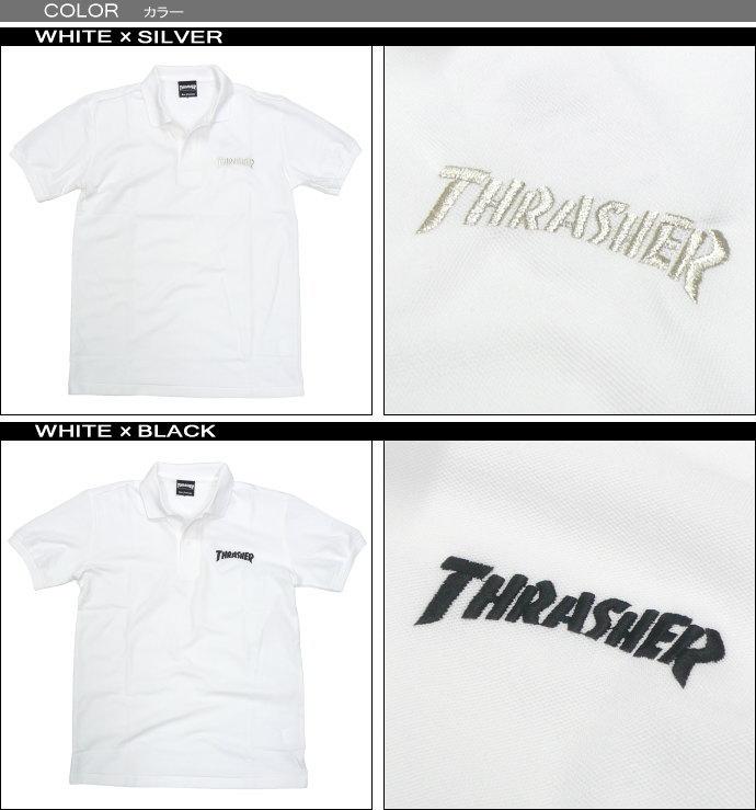 THRASHER(スラッシャー)ポロシャツ