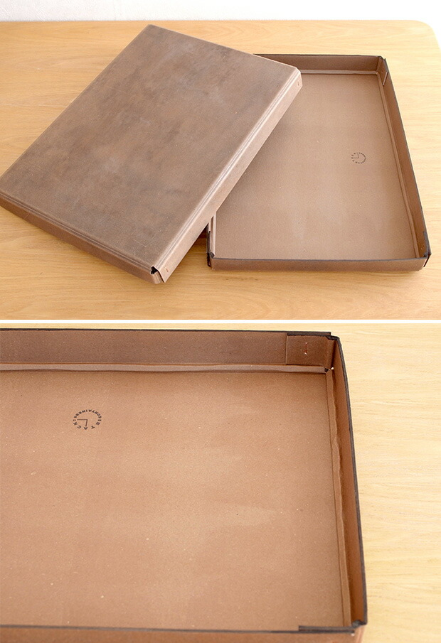 【期間限定ポイント10倍】 PAPER CONTAINER A3 収納ボックス フタ付き 紙製 ファイルボックス 日本製 アンティーク 加工 書類ケース STACK CONTAINERS スタックコンテナーズ おしゃれ