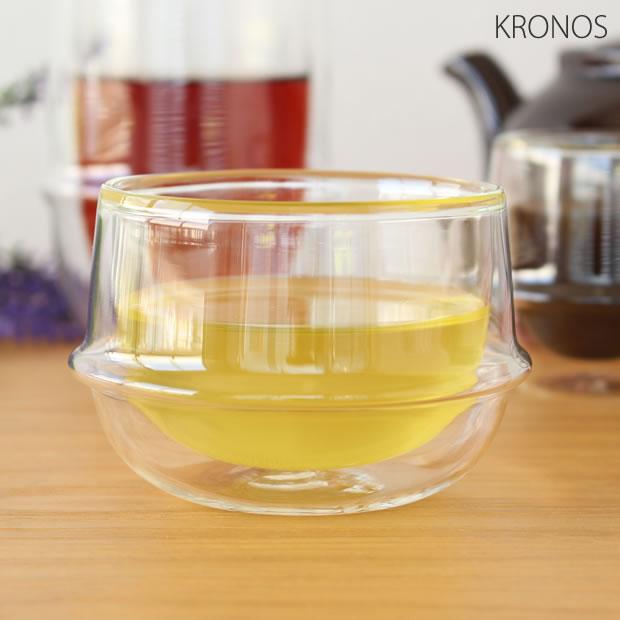 KINTO(キントー) KRONOS ダブルウォール ティーカップ 200ml