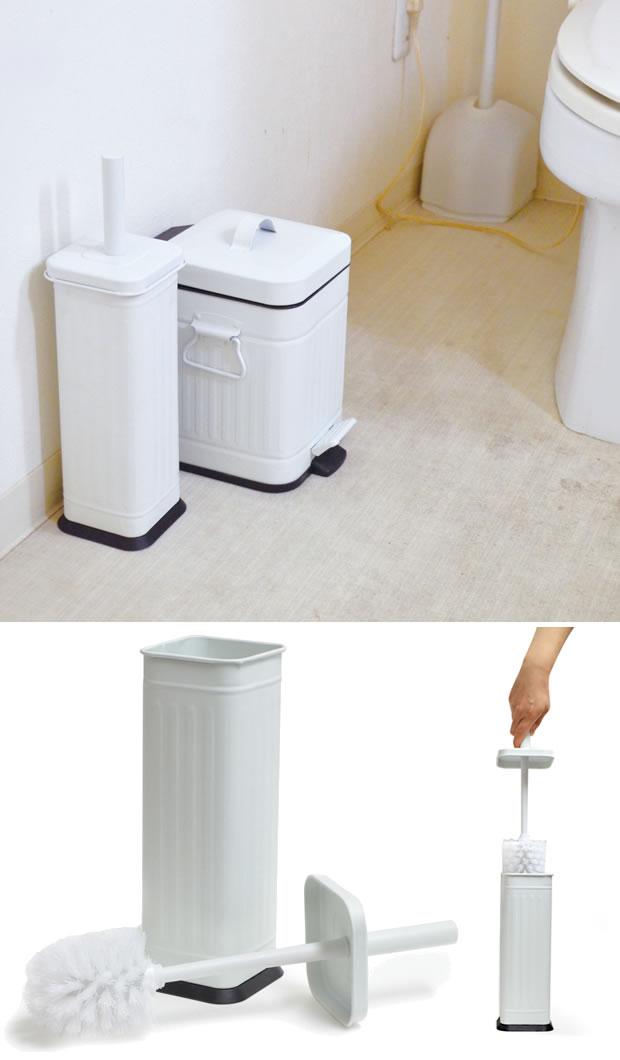 Galva ガルバ トイレブラシ ふた付き トイレ用掃除ブラシ
