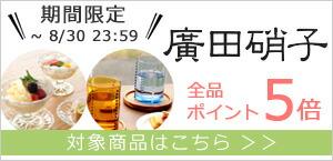 廣田硝子 全品ポイント5倍 月次施策 202108