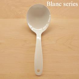 とりわけスプーン大 (白い琺瑯カトラリー・Blancブランシリーズ) takakuwa 005413