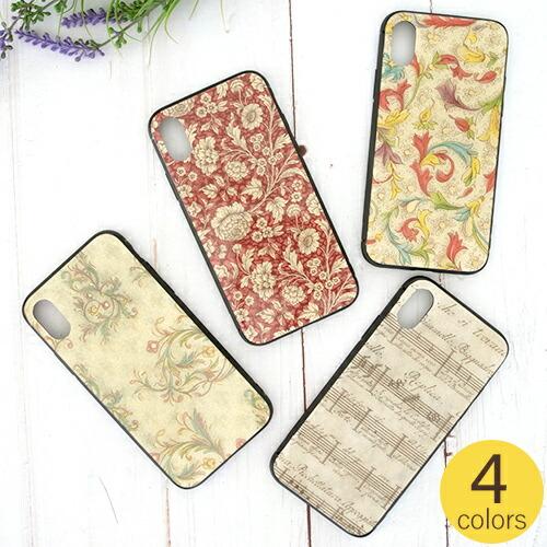 iPhoneケース iPhoneXケース スマホケース イタリアファインペーパー 花柄