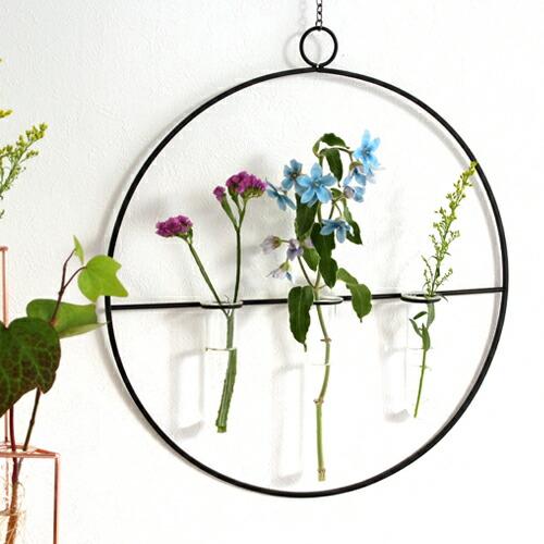 花瓶 一輪挿し ガラス管 フラワーベース