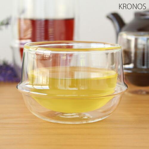 KINTO キントー クロノス KRONOS ダブルウォール ティーカップ 200ml