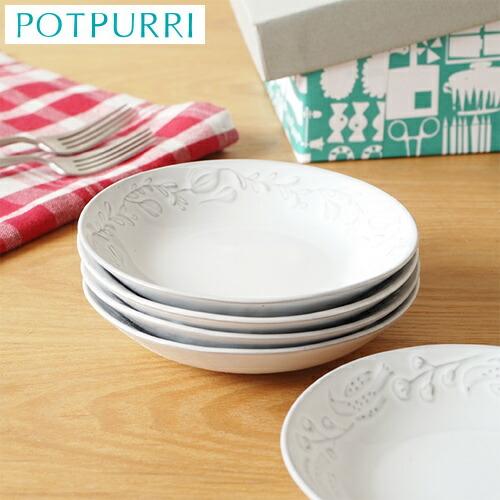 POTPURRI ポトペリー 小皿 セット 5枚組