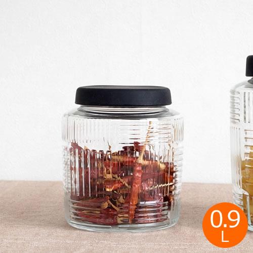 ローゼンダール コペンハーゲン ストレージジャー 0.9L ナナ・ディッツェル 北欧 ガラス 保存容器 おしゃれ ガラス瓶 保存瓶