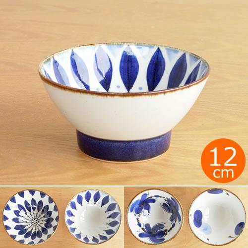 波佐見焼 HASAMI 翔芳窯 藍の器 くらわんか椀 大 茶碗 磁器 職人 手書き 軽量 軽い 薄い 日本製