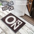 TERRACE MAT by TYPOGRAPHY テラス外用マットS