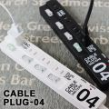CABLE PLUG-04・ケーブルプラグ4口