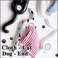 slam design dog-end cloth-cat ドッグエンド クロスキャット タオルハンガー