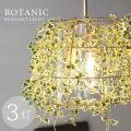 ボタニック ペンダントライト 3灯