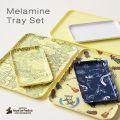MELAMINE TRAY SET・メラミントレイセット