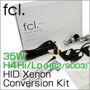 35W H4 Hi/Lo (HB2/9003) HID Xenon Conversion Kit