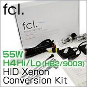 55W H4 Hi/Lo (HB2/9003) HID Xenon Conversion Kit