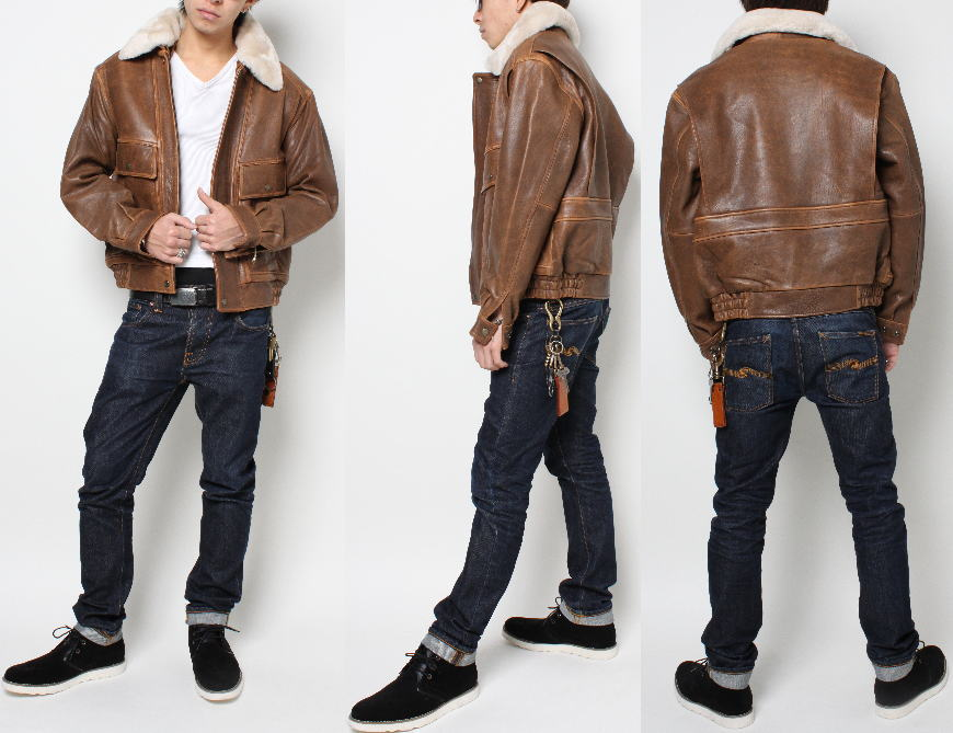 Fdm Leather Rakuten Global Market Jean Lambskin Mens