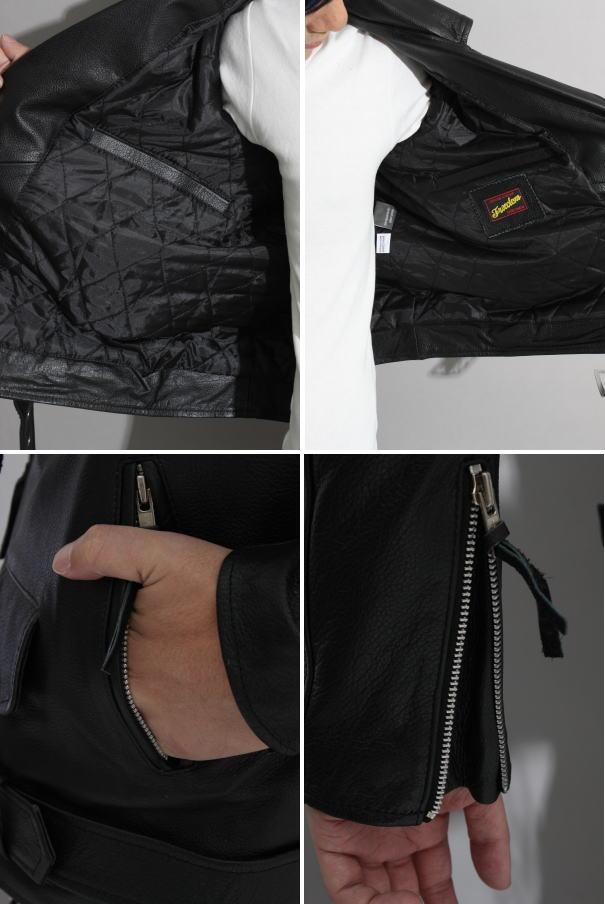 ライダースジャケット 革ジャン レザージャケット メンズ