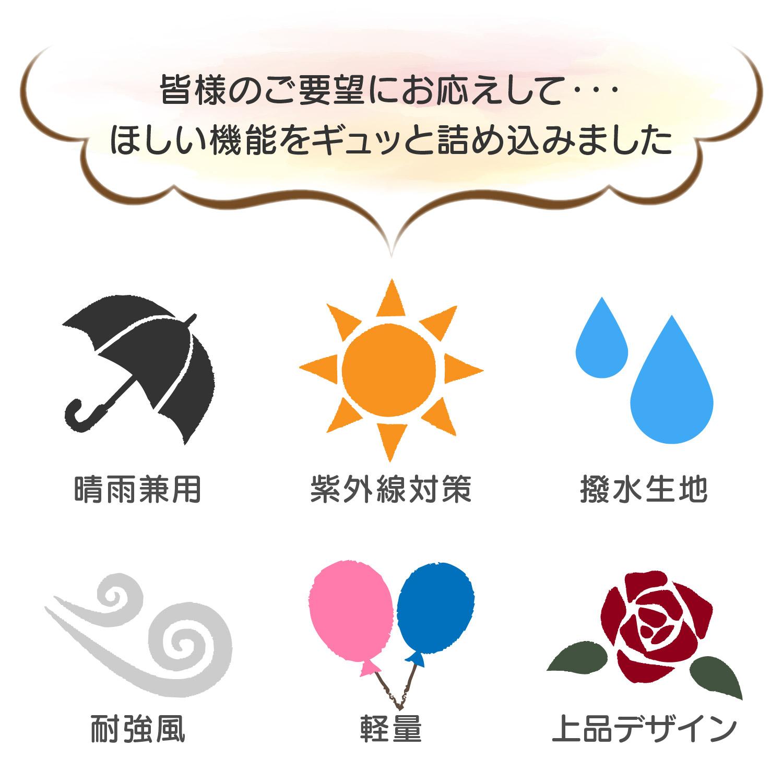 日傘おしゃれ