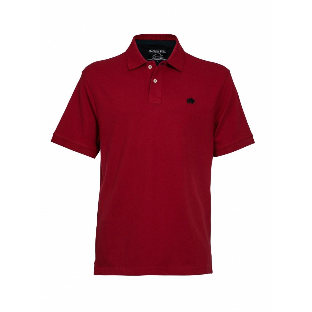 861e5b32f0bb4 ライジング ブル メンズ トップス ポロシャツ【Big & Tall New Signature Polo】red ライジング ブル メンズ トップス  ポロシャツ 【サイズ交換無料】