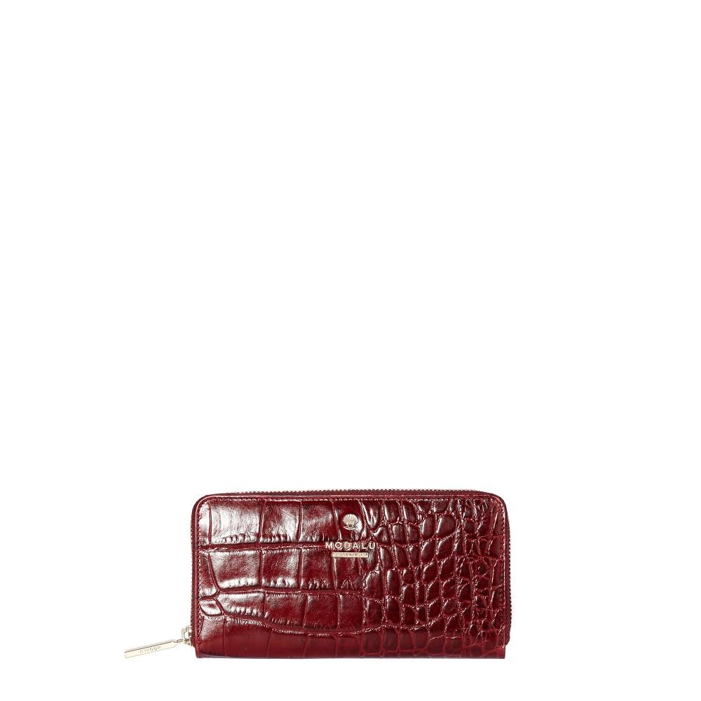 481a0d85315f モダルー レディース 財布【Pippa Ziparound Purse】red:フェルマート ...