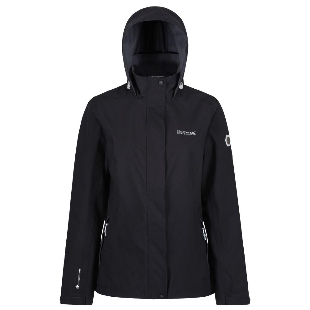 Regatta Calyn Stretch 3 In 1 Womens Waterproof Jacket Black