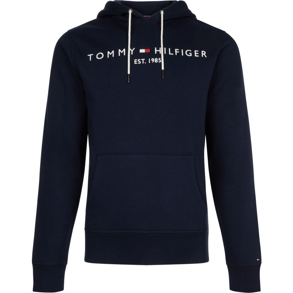 a0e4419be1571a トミー ヒルフィガー メンズ トップス パーカー【Tommy Logo Hoodie】navy トミー ヒルフィガー メンズ トップス パーカー  【サイズ交換無料】