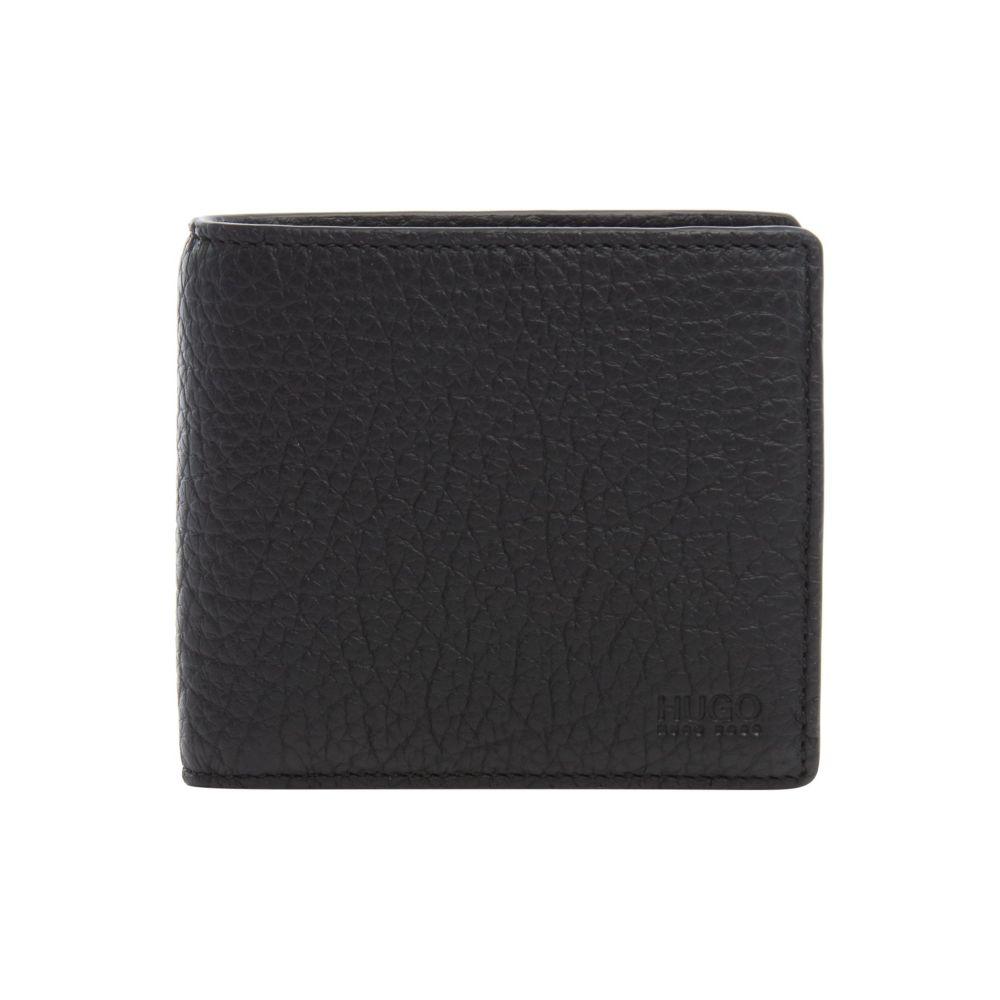 f81e73aa7515 ヒューゴ ボス Hugo Boss メンズ 財布【Hugo Victorian Grainy Leather Coin Pocket  Wallet】black ヒューゴ ボス メンズ 財布·時計·雑貨 財布 【サイズ交換無料】