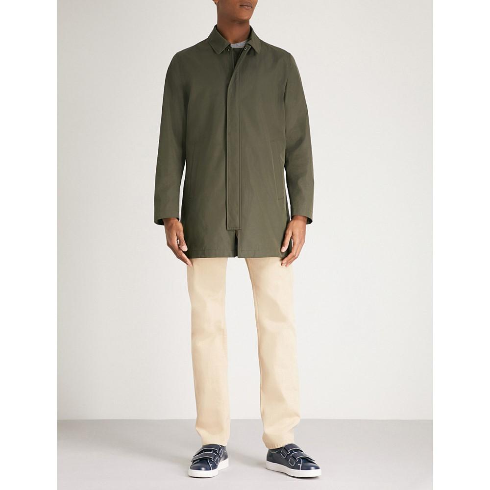 b190b428680b6e タイガー オブ スウェーデン メンズ アウター コート【brumos shell overcoat】Green 驚きの低価格で