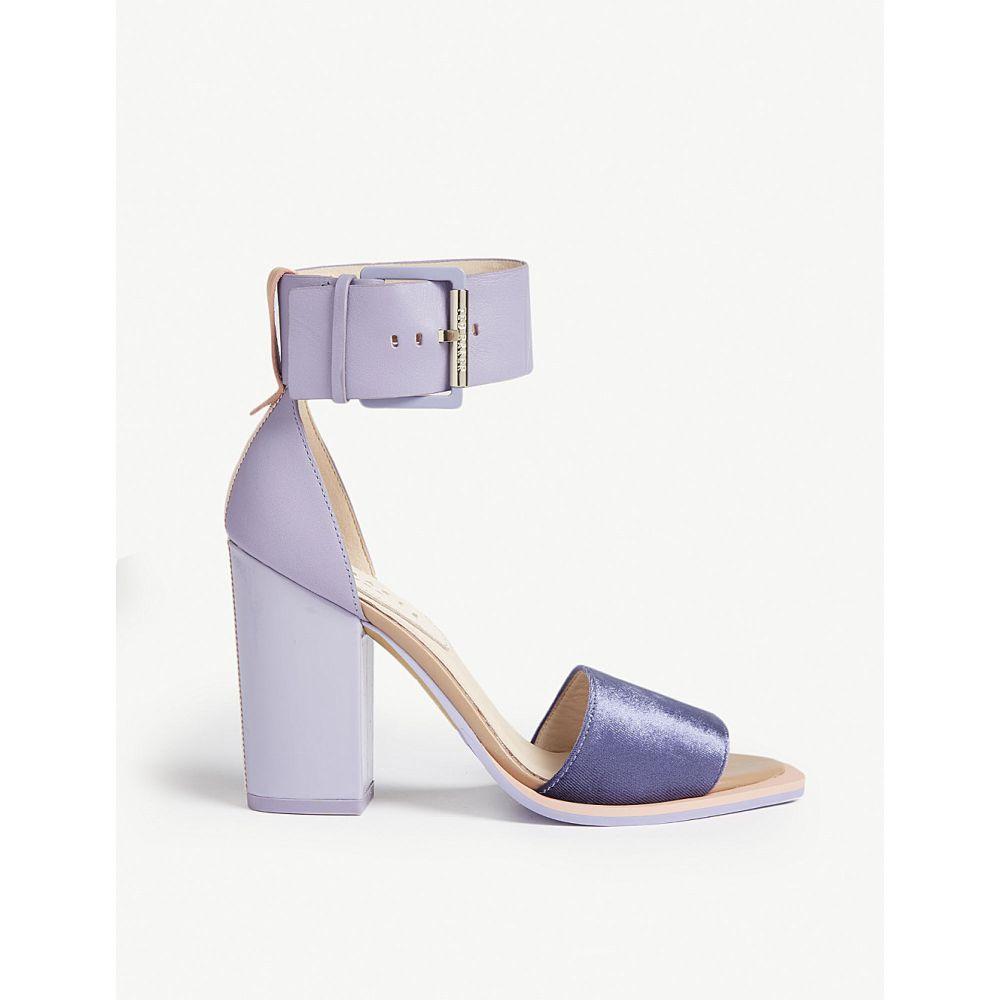 a246e172b20f テッドベーカー ted baker レディース シューズ・靴 サンダル・ミュール errita leather block heel sandals  Lilac