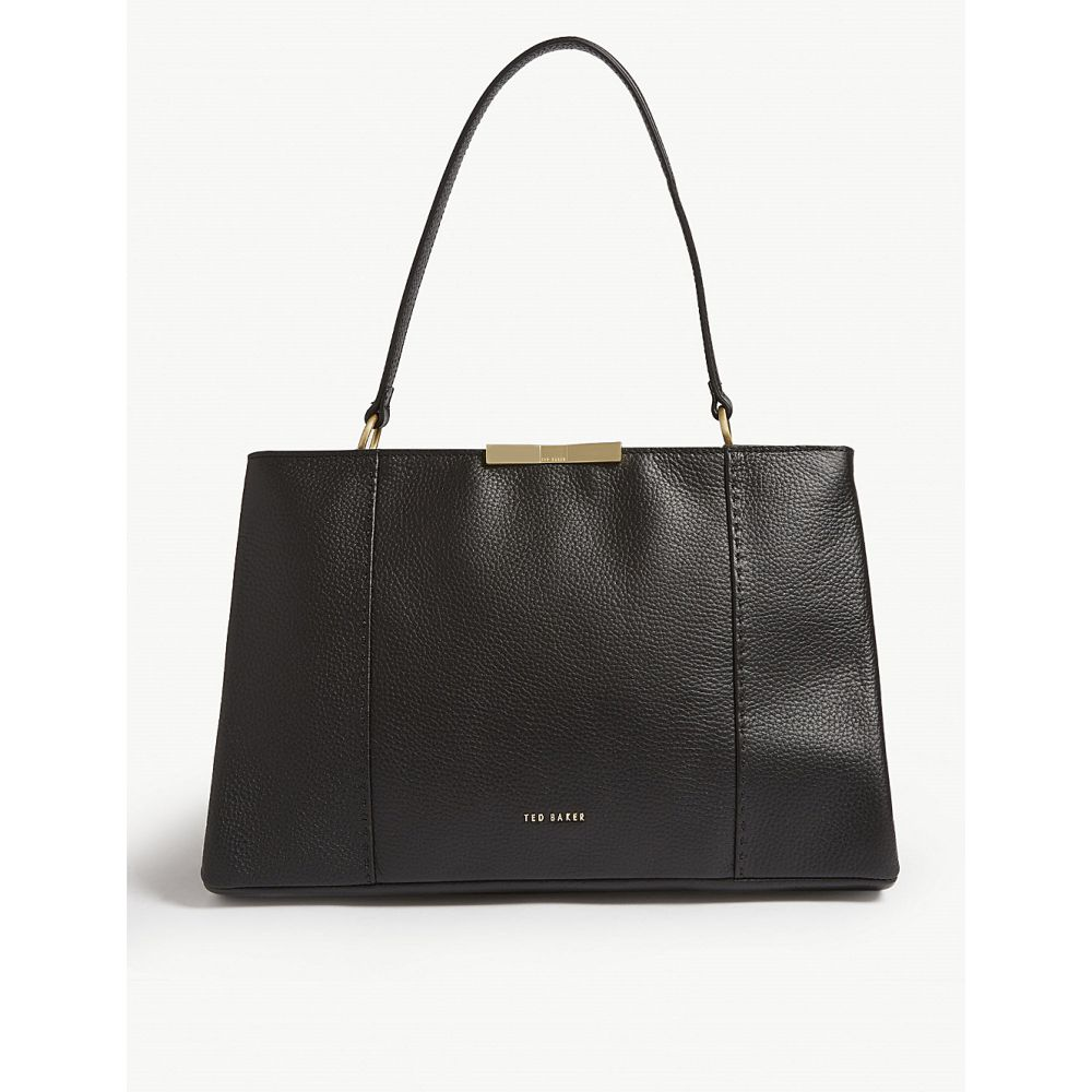 f48385780cef82 テッドベーカー ted baker レディース バッグ トートバッグ【faceted bow tote bag】Black テッドベーカー レディース  バッグ トートバッグ 【サイズ交換無料】