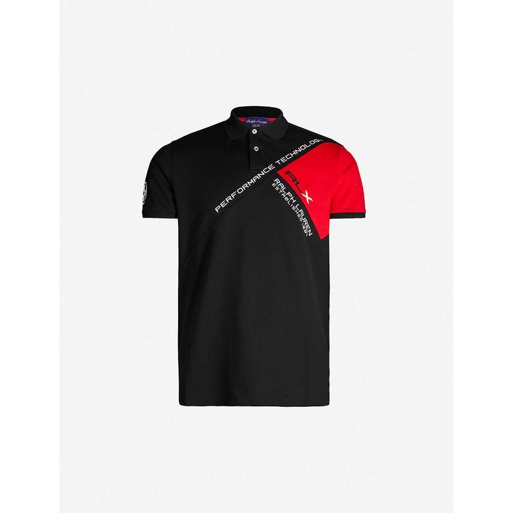 New RALPH LAUREN BLACK LABEL Purple Cotton Blend Casual Polo Shirt Size S $225